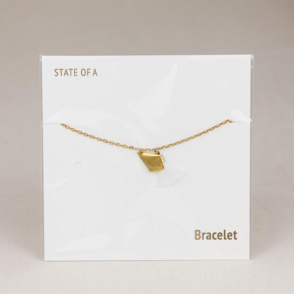Bracelet Cotton Collection Tassel Diamond