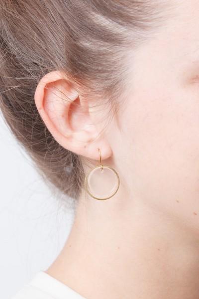 Earring Circle Acrylic