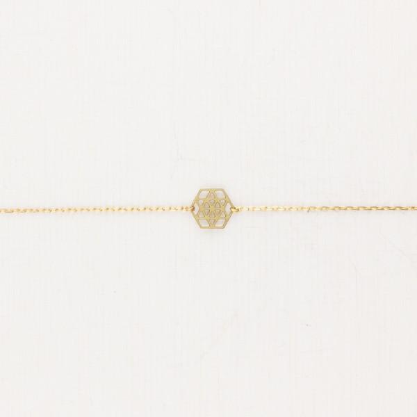 Bracelet goemetric Mandala small