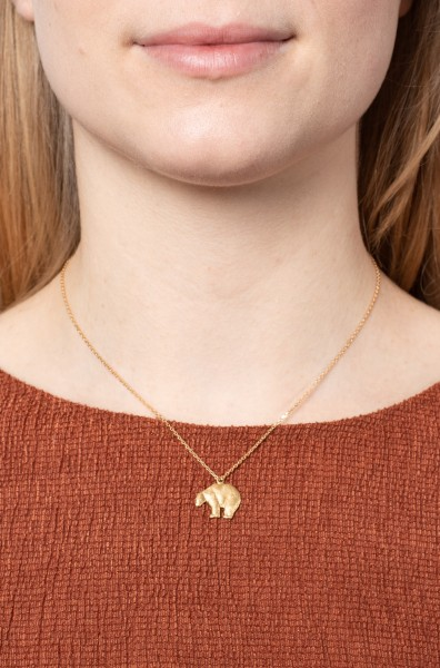 Necklace short bear