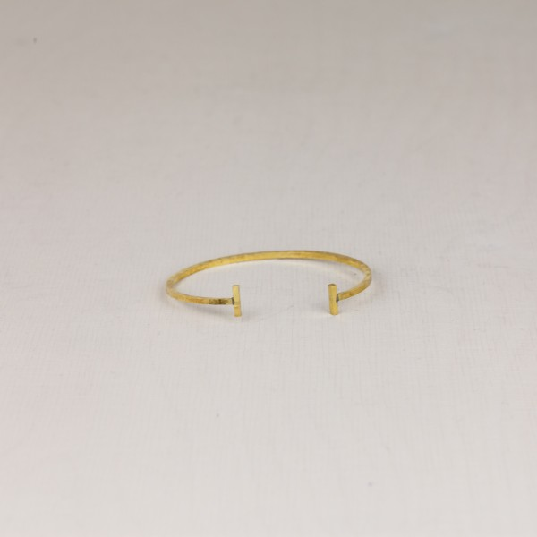 Cuff Bracelet hammered