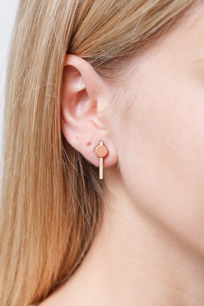 Earring Wooden Bar