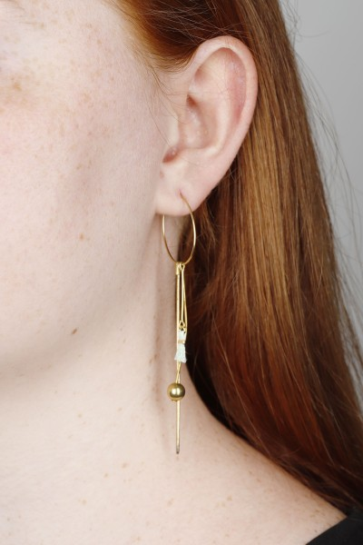 Earring Hoop mixed Shapes