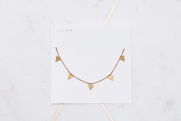 ANKLET structured Triangle