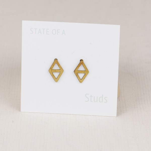 Studs lasered Diamond