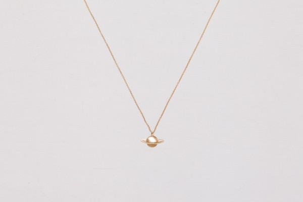 Necklace short Planet