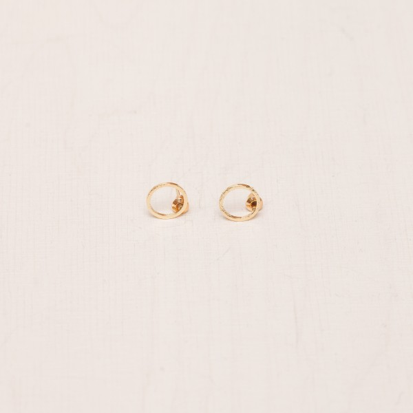 Earring Stud Outline structured