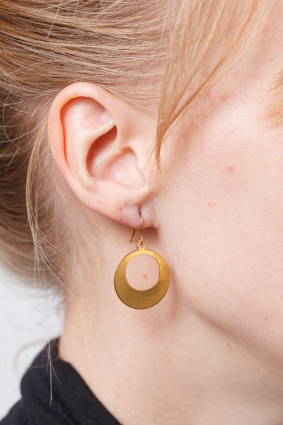 Earring open Circle