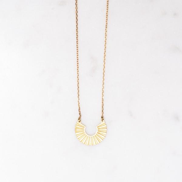 Necklace short SUN