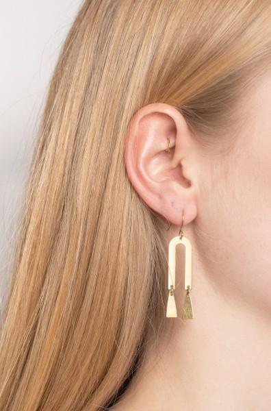 Earrings U-Shaped