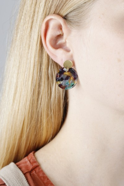 Earring Stud Acrylic