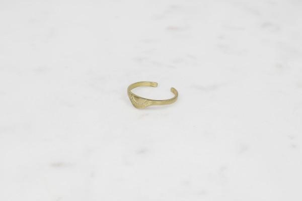 Ring Brass Sun