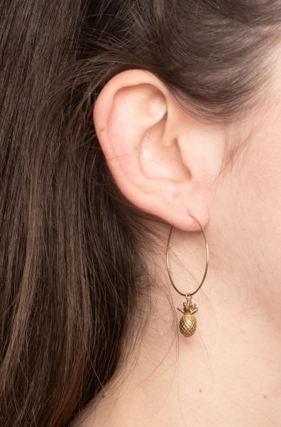 Earring Creole Cactus/Pineapple/Bear