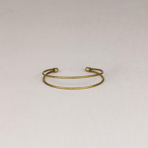 Cuff Bracelet Double Line