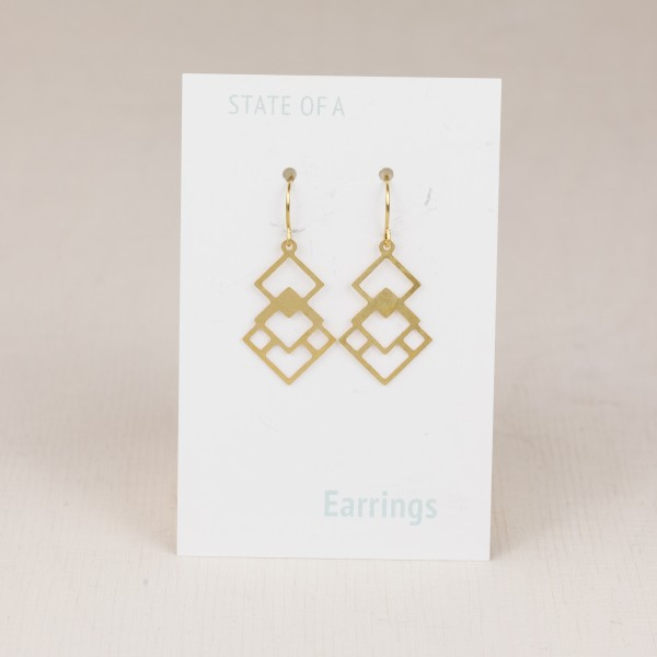 Earring Squares