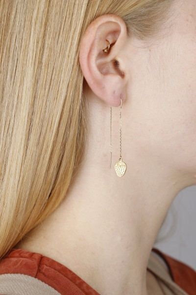 Thread Earring different Shapes