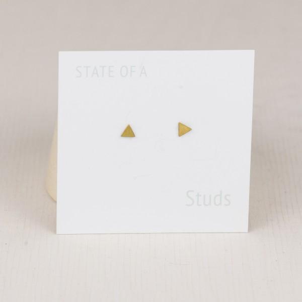 Studs simple tiny Triangle