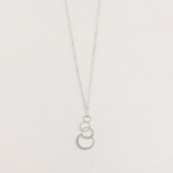 Necklace long Bubbles