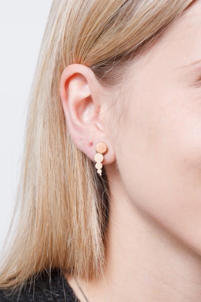 Earring Wooden Circles