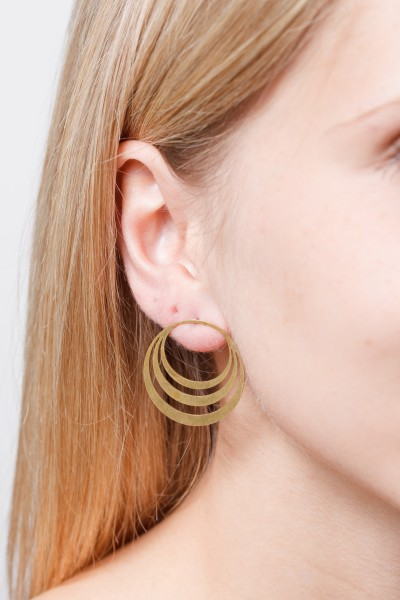 Earring Circle lasered