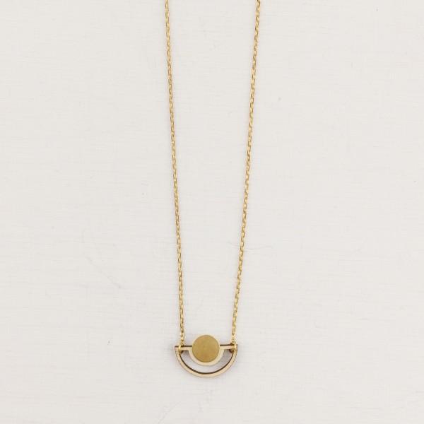 Necklace short Half Circle