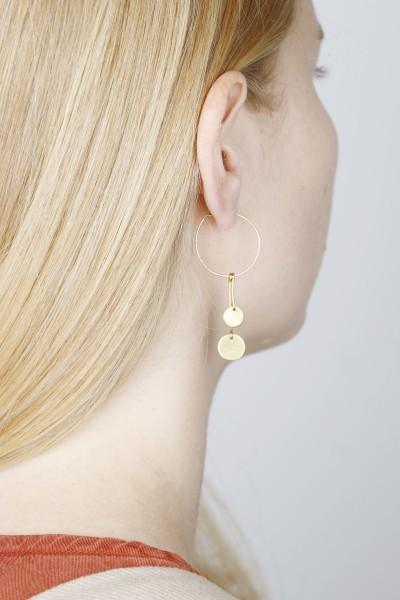 Earring Hoop Circles