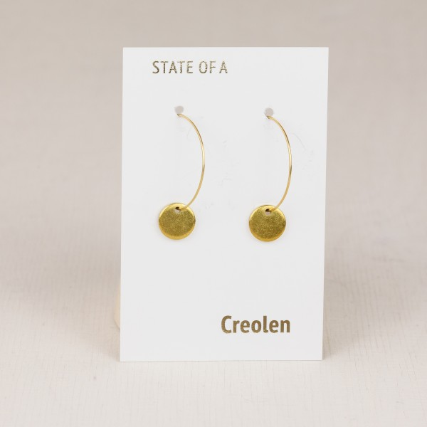 Earring Creole simple Circle