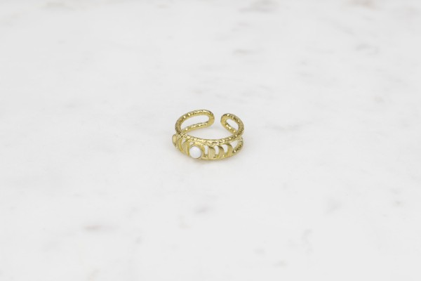 Ring Brass Moon Phase