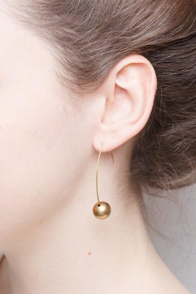Earring Brass Bead