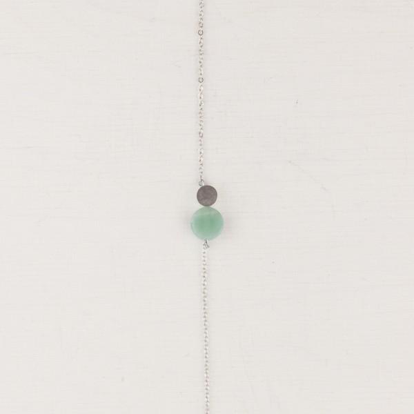 Bracelet Gem Circle silver