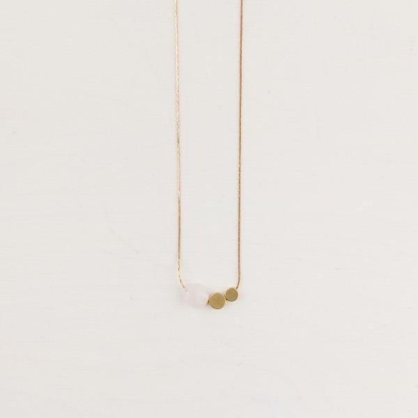 Necklace short Gem Circles