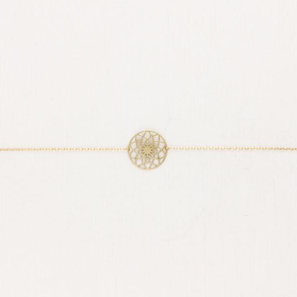 Bracelet Mandala lasered