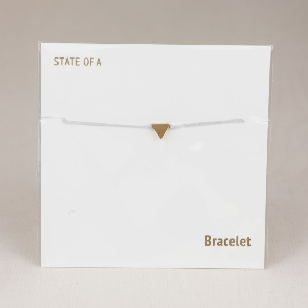 Bracelet Cotton Triangle