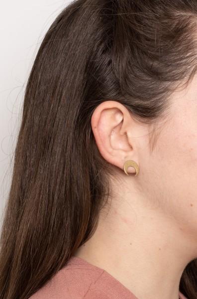 Earring Stud Moon