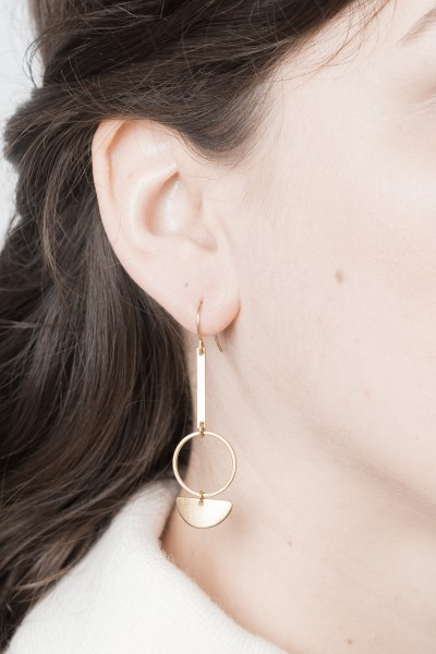 Earring Circles & Bars & Semi Circle