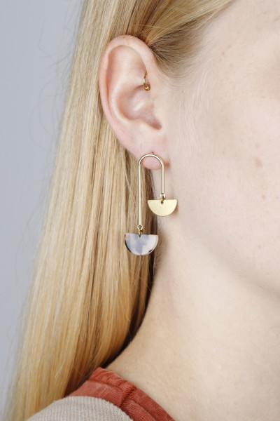 Earring Stud Bars Acrylic