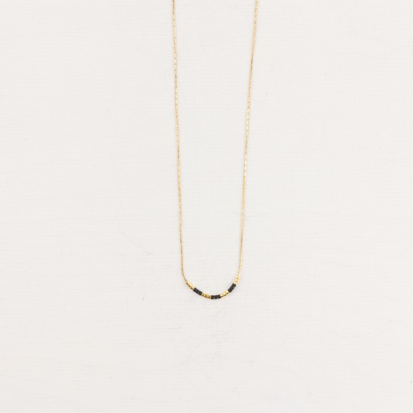 Necklace short Miyuki Beads 24k Gold ASSORTED