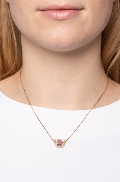 Necklace short Gem Cube