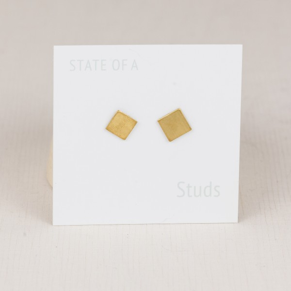 Studs Simple geometric Squares