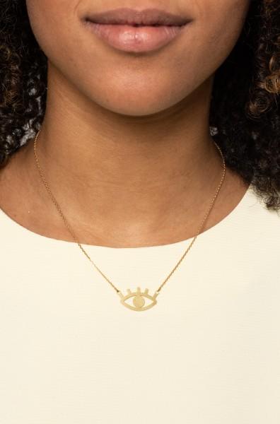 Necklace short Eye