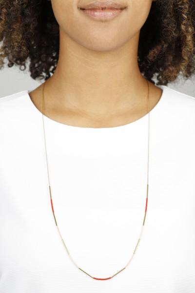 Necklace long Miyuki Beads 24k Gold ASSORTED