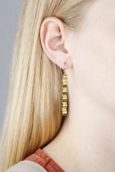 Earring hanging Wave