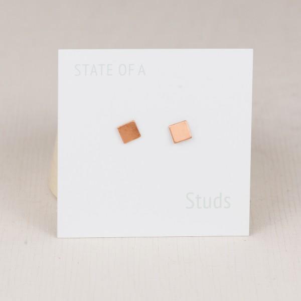 Studs tiny Squares