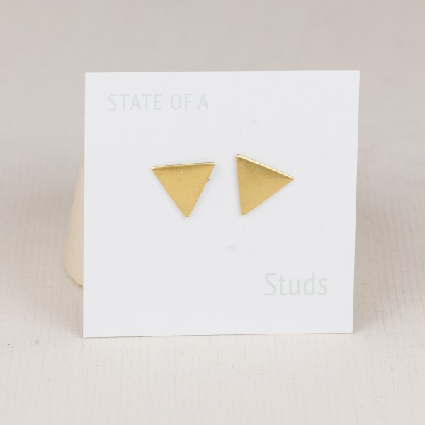 Studs simple Triangle