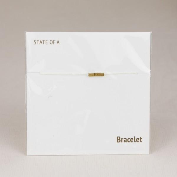 Bracelet Cotton Cubes Squares