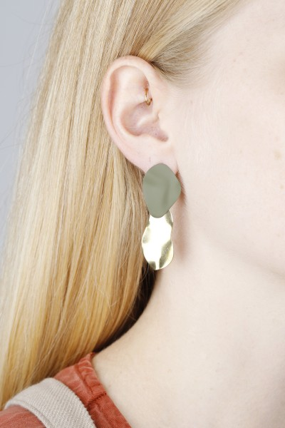 Earring Stub matte Shapes