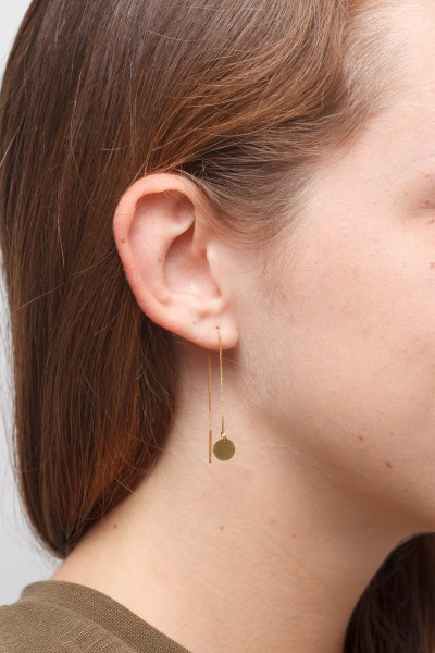 Thread Earring structured