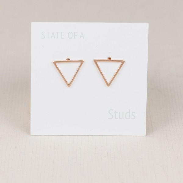 Studs Line Triangle