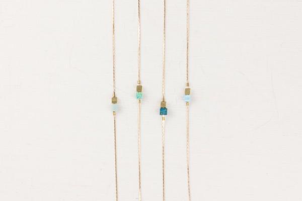 Bracelet Gemstone Cubes