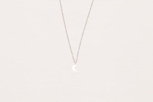 Necklace short moon